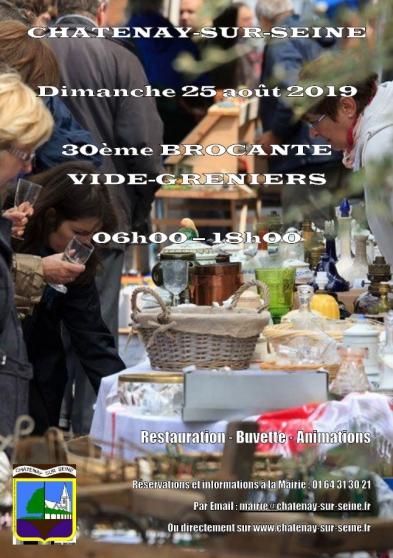 30ème brocante - vide-greniers - Annonce gratuite marche.fr