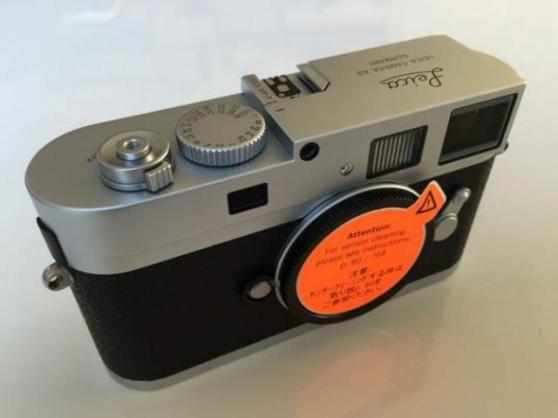 Boîtier Leica M9-P Silver
