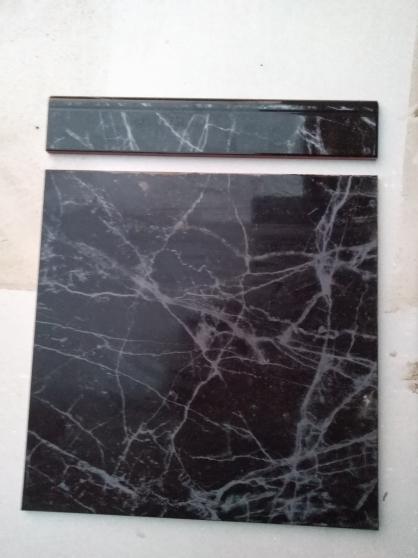 Annonce occasion, vente ou achat 'carrelage+ plinthe negro'
