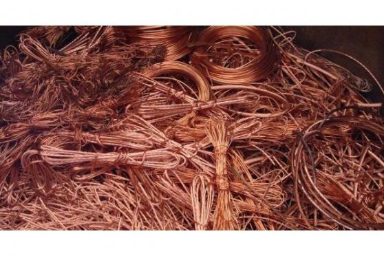 câble de cuivre dénudés et le cuivre mil - Photo 2
