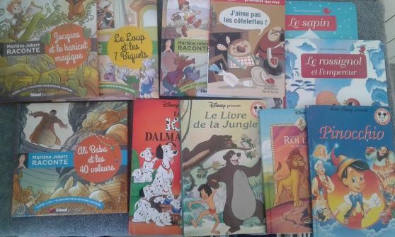 11 LIVRES ENFANTS (5/7 ANS) –10 EUROS