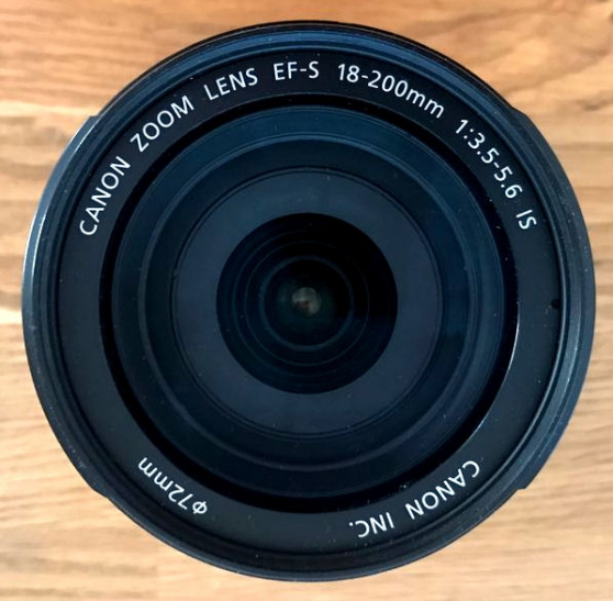 CANON EFS 18–200 mm IMAGE STABILIZER SUP