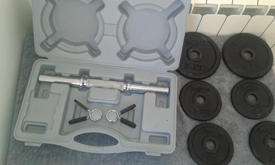 KIT HALTERE 10 kg (MALETTE) DOMYOS 15 EU