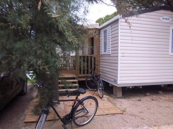 Mobilhome camping Mar Estang