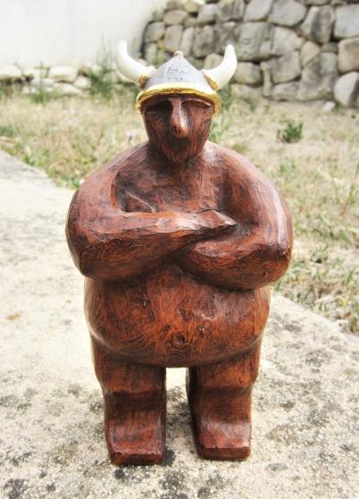 """Sculpture céramique """"Station Alésia"""""""