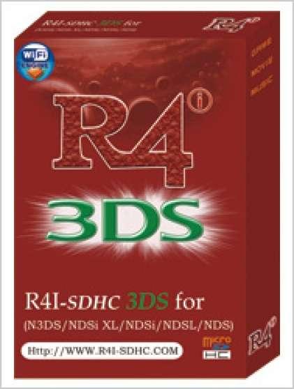 CARTE R4i SDHC 3DS + Carte 4Go + Jeux
