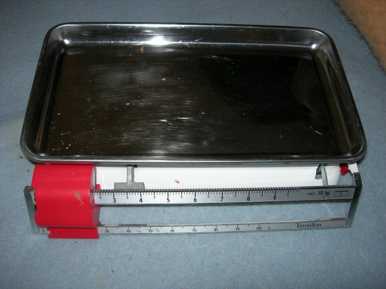 2 balances Teraillon 10 kilos