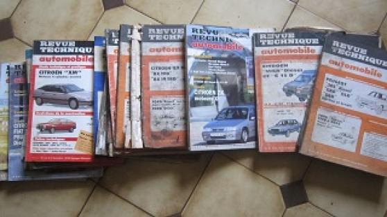 lot de 250 ancienne revue technique