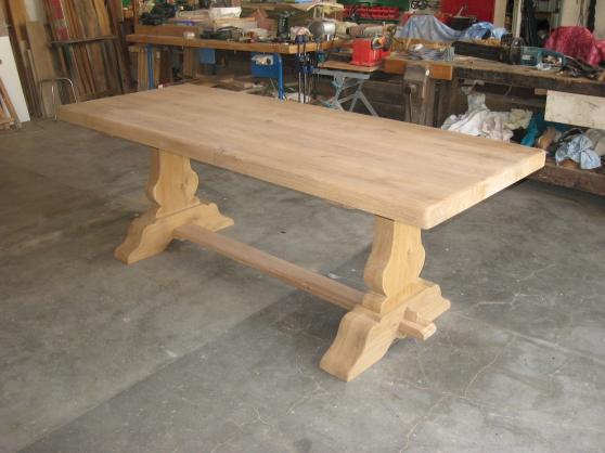 table monastere chene meubles d coration tables ch tillon sur indre reference meu tab tab. Black Bedroom Furniture Sets. Home Design Ideas