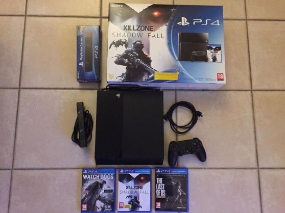 Playstation 4 pack 500Go + 3 jeux PS4 +