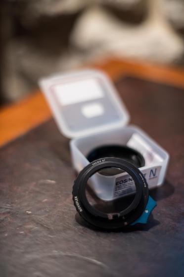 Adaptateur EOS Canon / Nikon Novoflex