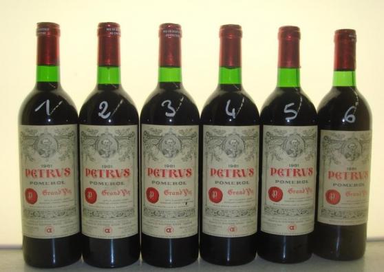 vin Château Petrus 1989