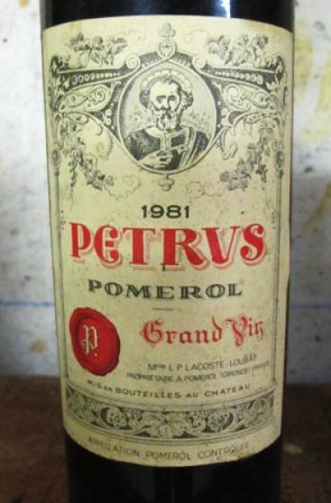 vin Château Petrus 1989 - Photo 2