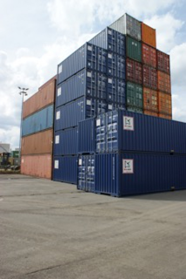 Container 6m tat neuf mat riaux de construction baraques for Prix container neuf