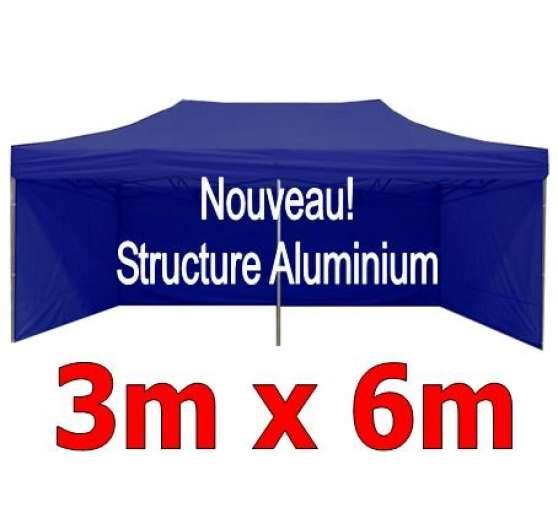 barnum pliant aluminium 3x6m bleu 4 c professionnels. Black Bedroom Furniture Sets. Home Design Ideas