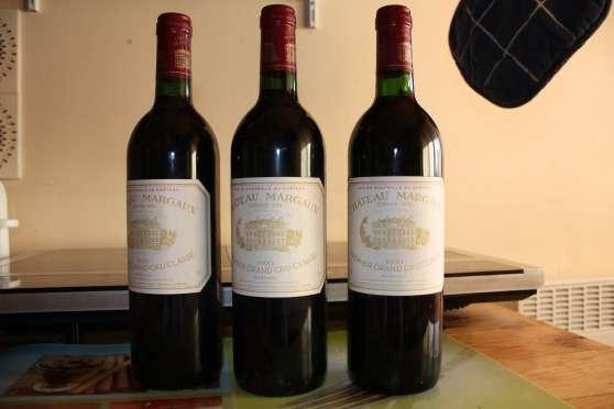 3 chateau margaux 1990
