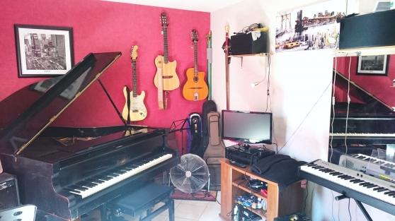 Annonce occasion, vente ou achat 'cours de guitare, Piano ,contrebasse'