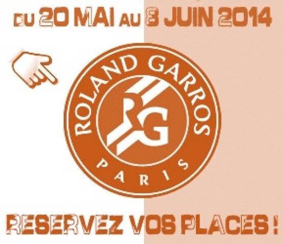 Annonce occasion, vente ou achat '2 billets 1/4 finales Roland 04/06/2014'