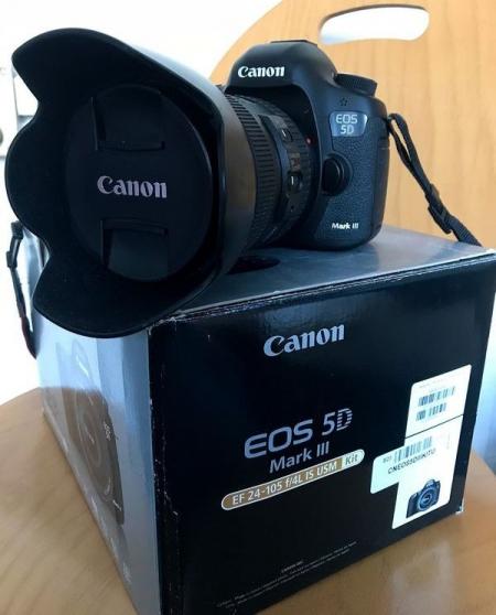 Canon EOS 5D Mark III et Objectifs