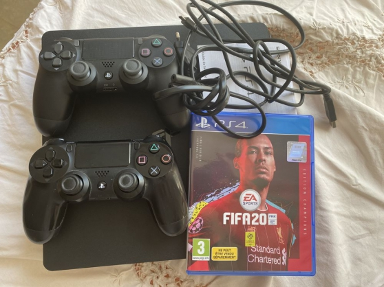 Annonce occasion, vente ou achat 'Ps4 + 2manettes + fifa 20'