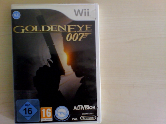 jeu wii Goldeneye James bond 007