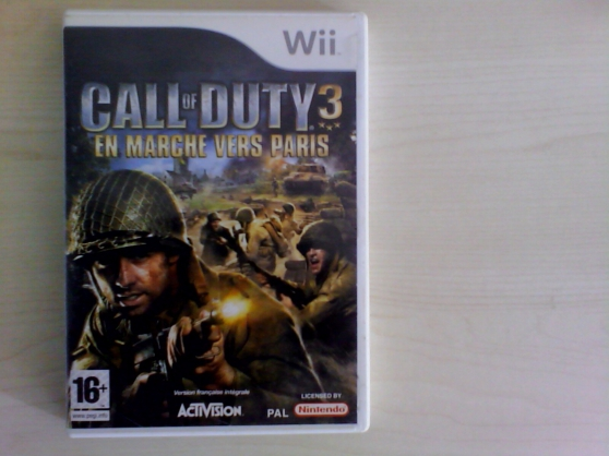 Annonce occasion, vente ou achat 'jeu wii call of duty'
