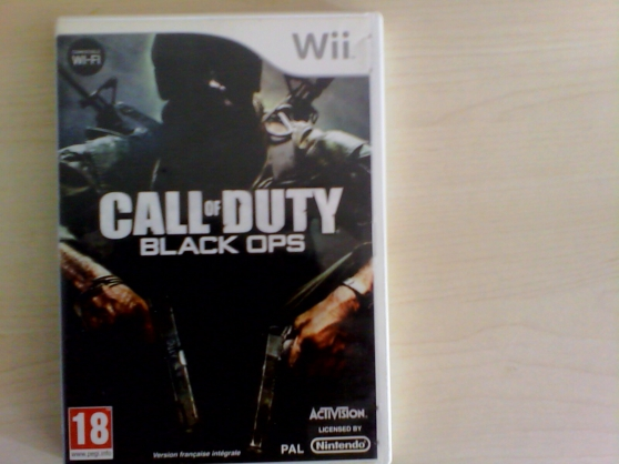 jeu wii call of duty Black OPS