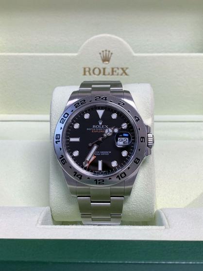 Annonce occasion, vente ou achat 'Rolex Explorer II. Model 216570'