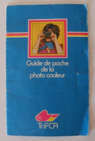 Annonce occasion, vente ou achat 'guide de poche de la photo couleur'