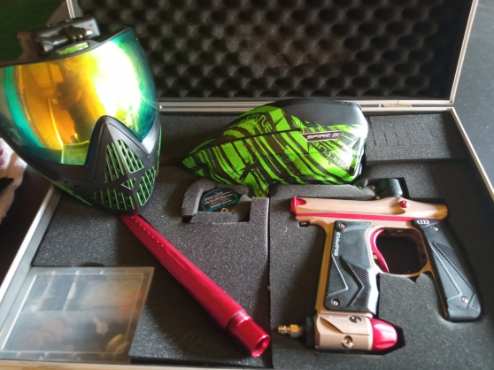 Annonce occasion, vente ou achat 'Lot paintball complet'