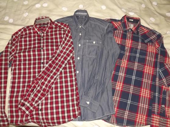 lot 3 chemises JULES - taille S