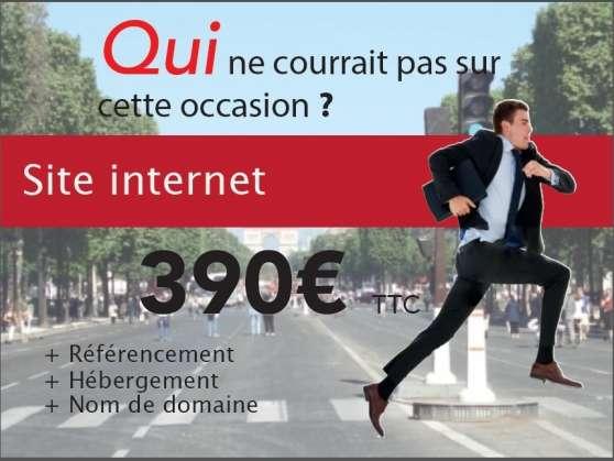 Votre site internet dés 390€ ttc