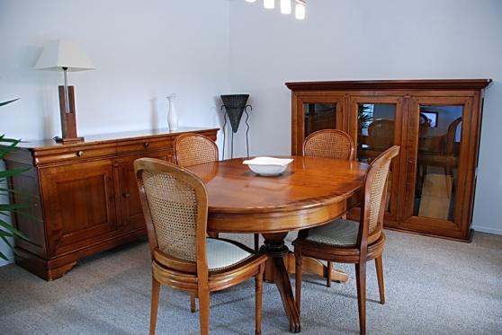 Salle manger style louis philippe lafitole meubles - Petit meuble salle a manger ...