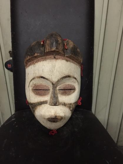 art africain masque Salampasu Congo rdc