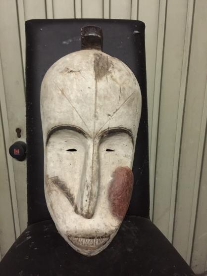 art africain masque fang Guinéen