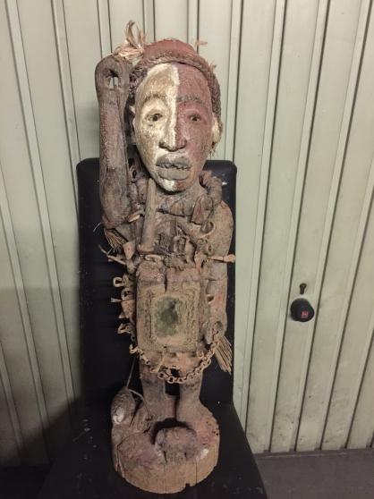 art africain statut fétiche Bacongo rdc