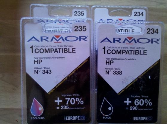 cartouches compatibles hp 343 et 338