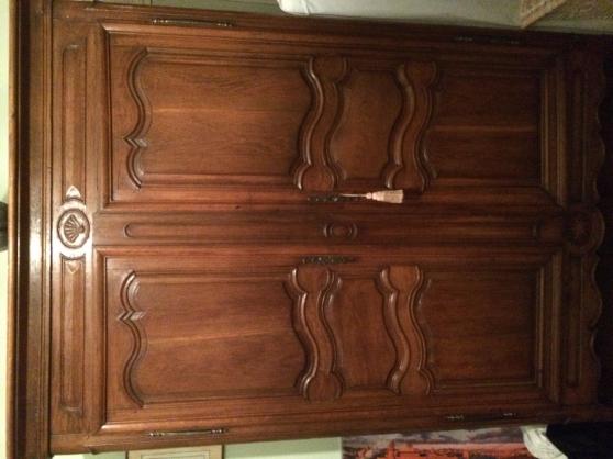armoire en ch ne d 39 poque maisons laffitte antiquit. Black Bedroom Furniture Sets. Home Design Ideas