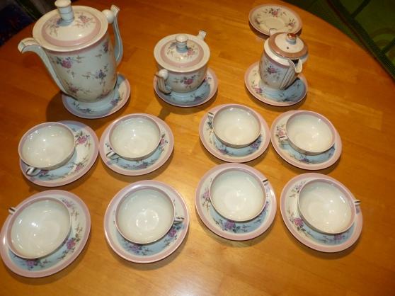 Service à the Porcelaine de Limoges