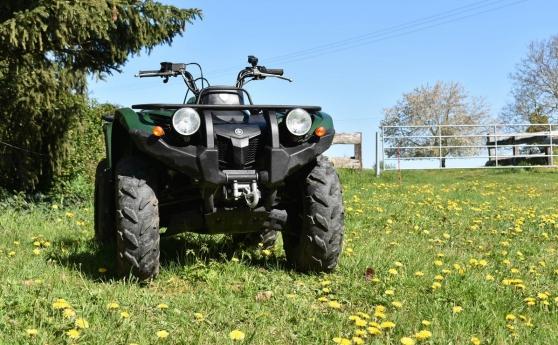 quad yamaha grizzly 450 - vert à mayenne - Annonce gratuite marche.fr