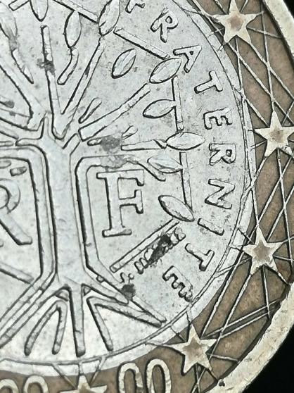 Pièce de 1 euro France 2000. - Photo 3
