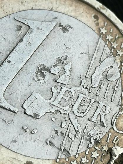 Pièce de 1 euro France 2000. - Photo 4