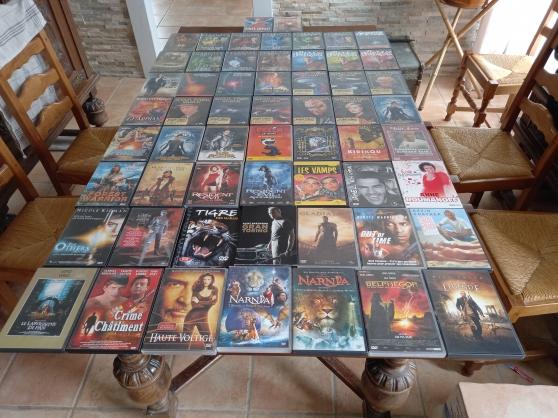 Annonce occasion, vente ou achat 'Lot de 65 DVD - Cd - K7 divers'