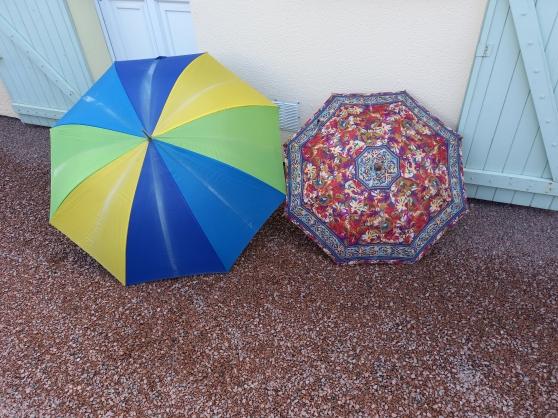 Lot de 2 parapluies homme / femme - Photo 2