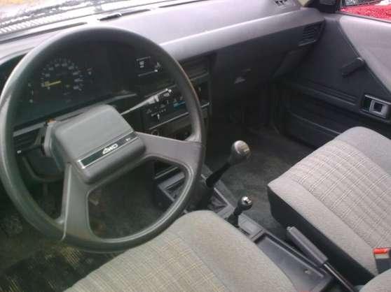 TOYOTA TERCEL 4WD - Photo 4