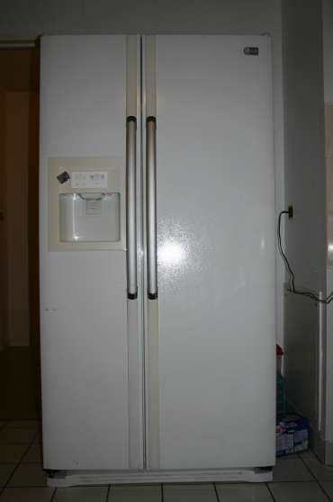 Donne r frig rateur am ricain lg bar le duc - Mon frigo fait de l eau ...