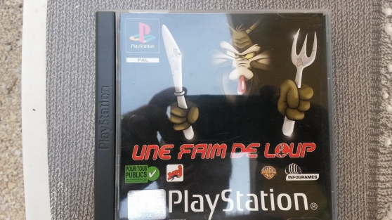 """jeux de playstation""""une faim de loup"""""""