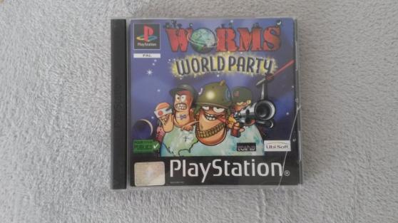 "jeux de playstation ""worms world party"""