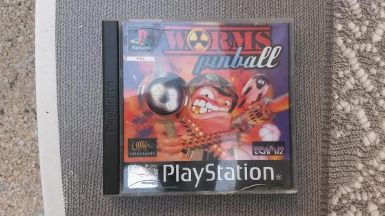 "jeux de playstation ""worms pinball"""