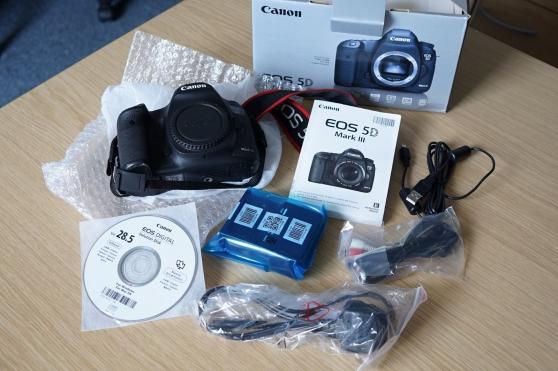 Annonce occasion, vente ou achat 'Canon EOS 5D Mark III Boitier nu en état'